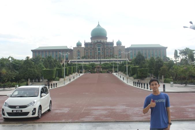 Seri Perdana, kantor Perdana Menteri Malaysia...Megah sekali!