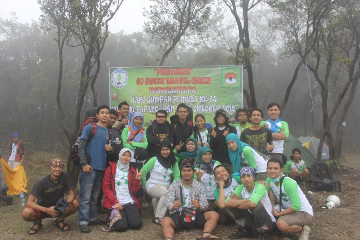 Group Picture with some hikers, Komunitas Pendaki Gunung Balad Soekarno