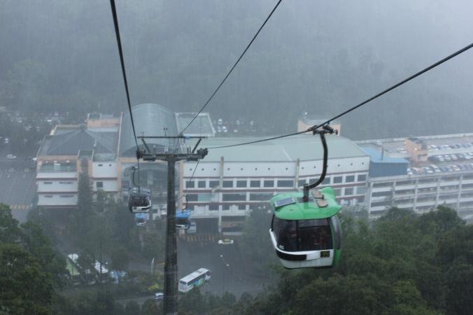 Melihat pemandangan dari Gondola sangat luar biasa