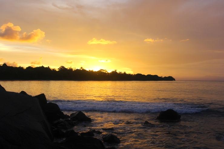 Sunset from Umang-Umang Island