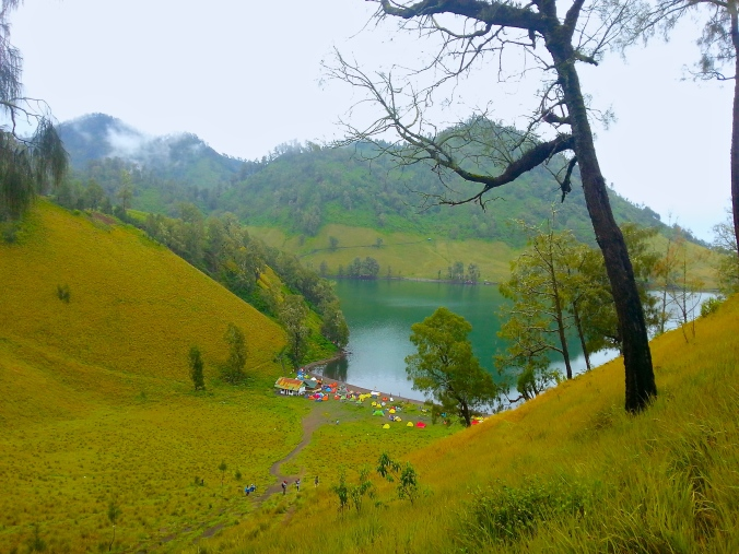 The Stunning Ranu Kumbolo