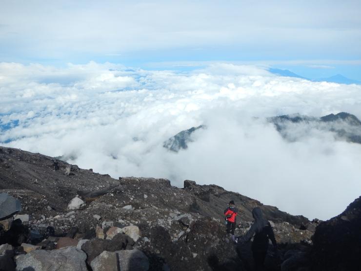 Typical Semeru Trail