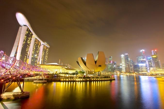The Stunning Marina Bay Sands