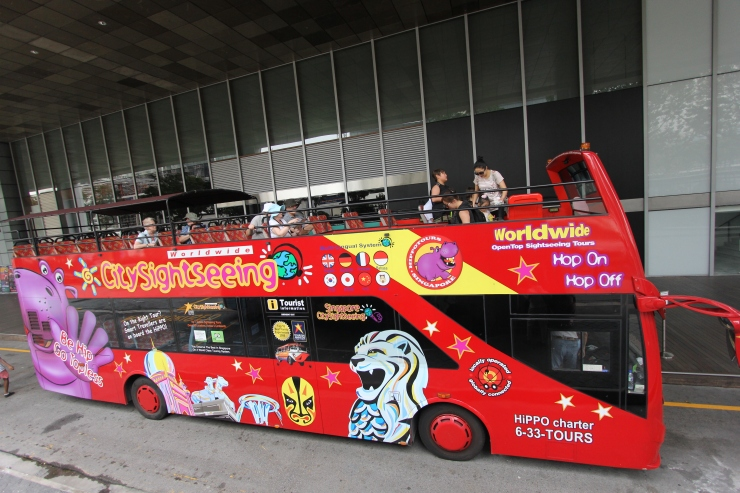 The Sightseeing Tour bus