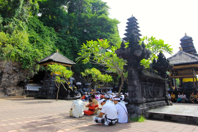 Goa Lawah, Klungkung, Bali on the way to Tulamben
