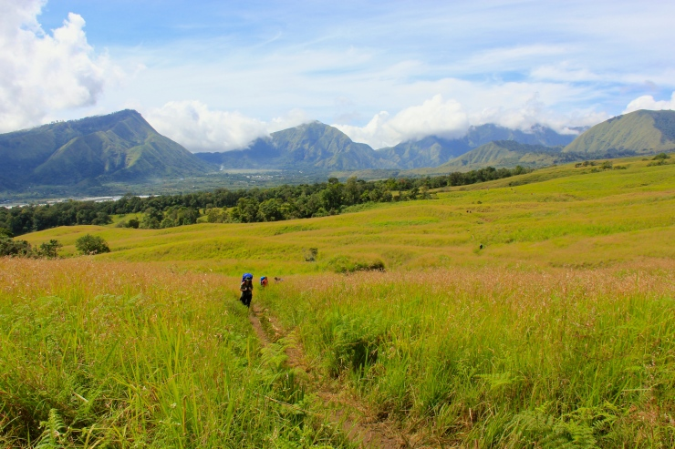 Another side of Rinjani's Sembalun Trail