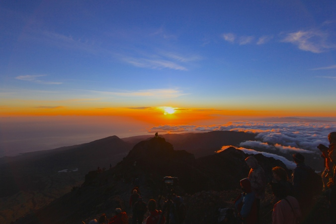 Sunsrise at the peak