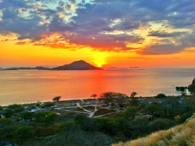 Sunset in Kanawa Island