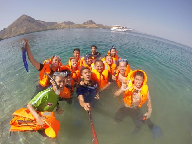 Having Fun at Pulau Sebayur Kecil