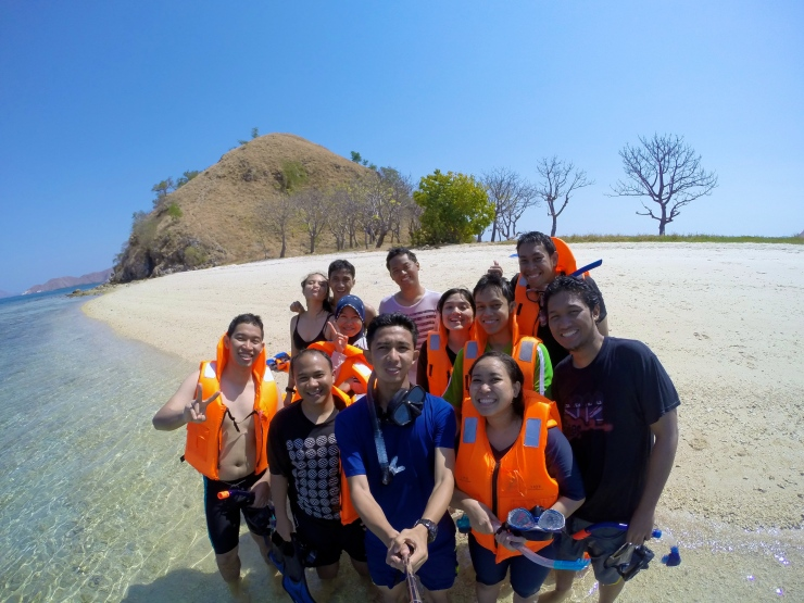 Beach of Kambing Island