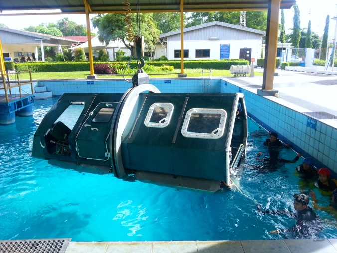 HUET - Helicopter Underwater Escape Training