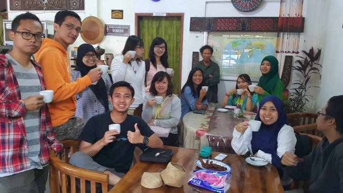 with Torajas Coffee Specialist