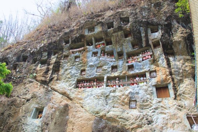 Stone Graves in Lemo Village